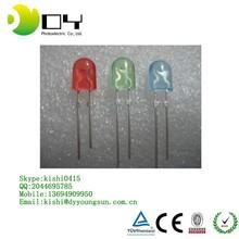 Ultra bright 4-pin 5mm rgb flash led diode