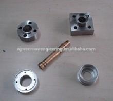 Various style cnc machining metal flange shaft sleeve