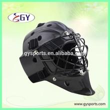 Recentes fibra de carbono capacete / capacete goleiro e máscara de goleiro