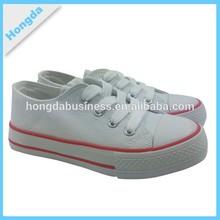 wholesale kids white canvas shoes