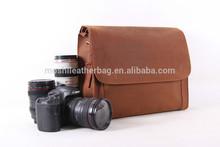 Fashion Leather Professional DSLR Camera Bag