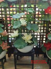 SJH1224488 artificial lotus lotus flowers cheap plastic flowers