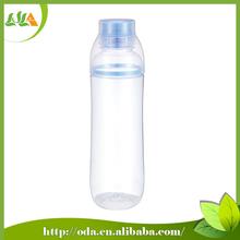2015 new design 650ml plastic water bottle with spout cap