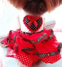 2015 China wholesale dog clothes cheap dog clothing dog dress