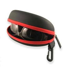 Custom wholesale waterproof hard eva eyeglass case sunglass case