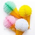 Favo de papel do casamento, perfeito do casamento decoração de bolas de papel