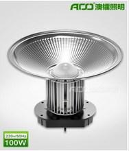waterproof IP65 fin heat sink industrial 100W led high bay light