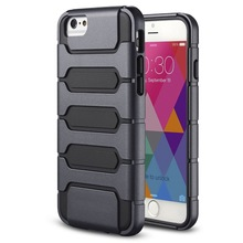 slim armor tank style phone case for iphone 6 ,protective hybrid phone case for iphone 6