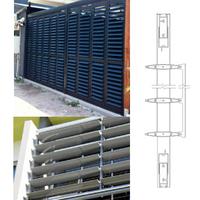 Construction Project Aluminum Sun Shade Aluminium Louvers