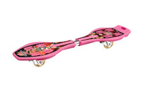 Chiropter snake board with flashing wheels