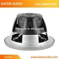 Pulgadas 12 de alta potencia poineer de doble bobina de audio del coche subwoofer, subwofer de coches, altavoz subwoofer