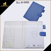 Guangzhou Factory Promotional PU Diary Cover and Document Holder