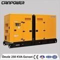 Nueva china productos para la venta 250kva silencioso Deutz eléctrico pequeño generador del dínamo