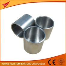 Manufacturer sintered molybdenum crucible for melting aluminium