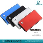 A11- Li-polymer 3000mAh Best Rechargeable Colorful Universal OEM Power Bank, OEM/ODM service