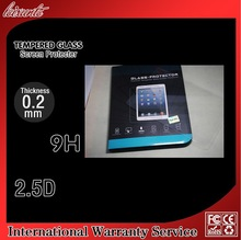 0.33mm 2.5d 9h Hardness Premium Tempered Glass Screen Protector Real Anti-Scratch/Oleophobic Coating for Ipad mini