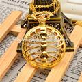 japão movt quartzo ouro antigo relógio de bolso de marcas