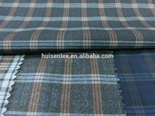 T/R checks suit fabric