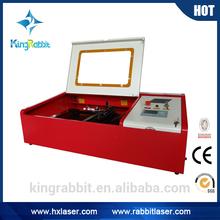 HX40B LPT and USB port small size desktop mini laser engraving