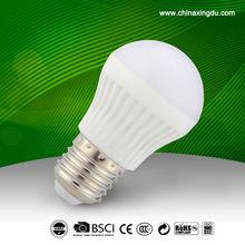 3W PBT Globe SMD E27 LED Bulb Light with CE certificate