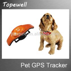 2015 New waterproof mini gps pet tracker/IOS App and Andriod App Pet gps tracker