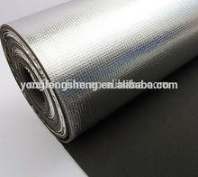 nonslip carpet 0.04mm blue pe film Foam underlayment with aluminum film