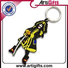 Factory direct sale acrylic plastic key chain blank keyring