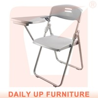 Plastic Folding Chair A comfortable chair for reading Folding Study Chair Writing Pad Free Shipment (50 chairs)to Netherlands