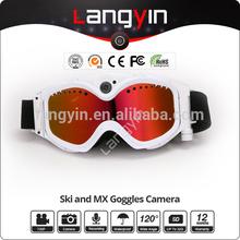 style 1080P HD camera sunglasse ski skiing snow camera goggles hidden camera 8GB 16GB 32gb