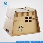 custom cardboard house for dog house