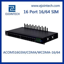 2014 OEM Ejointech gsm/cdma/wcdma voip 16 channel gateway voip sip phone with sim rotation