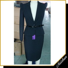Top grade Office ladies Stitched famous brand suit