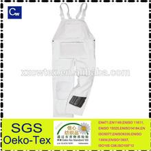 China OEM cotton functional waterproof oilproof painters bib overalls