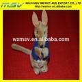 Azul de derechos adquiridos canguro de juguete / logo impreso clip de la felpa / clip on de los animales