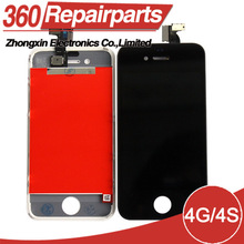 Hot selling OEM quality cheap price supply for iphone 4S lcd touch screen with digitizer assembly