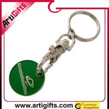 Cheap custom metal custom name brand coin keychain