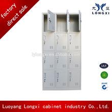 TWELVE doors knock down steel shoes locker, shoe display cabinet,coin operated locker