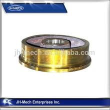 Forging alloy steel 42CrMo qb bridge crane wheels