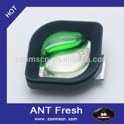 Dual-scent vent car diffuser/membrane car air freshener