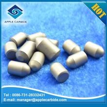 Zhuzhou Apple K20 cemented carbide button tips/parabolic dauble chamfers button