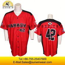 Custom colour full latest style Baseball sublimation printed custom basebll jersey wholesale