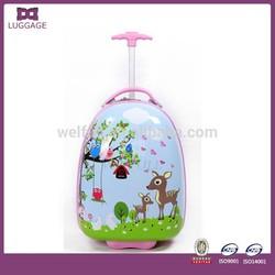 Beautiful Cheap Cute Kids Luggage On Wheels