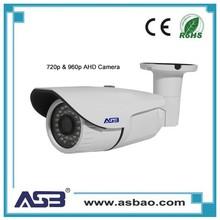 ASB High Quality Security AHD Cameras 720P Fixed Lens 1.0 Megapixel AHD CCTV Camera