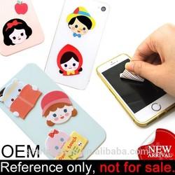 custom mobile phone adhesive fiber micro screen cleaner