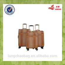 PU material luggage lady bag BV certificate eva luggage bag factory price branded luggage bags