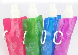 Water Bottle bags made from recycled plastic bottles