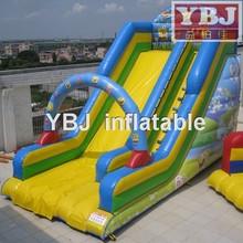 2015 new inflatable slides,comercial inflatable spongebob slides