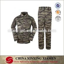 Poly/Cotton Tiger Stripe Camouflage Combat Uniform BDU