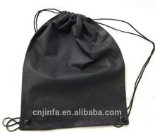 Gift Bag Use and Jute Material Natural Burlap Drawstring Wine Bags