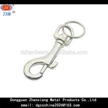 Metal Belt Clip with Split Ring